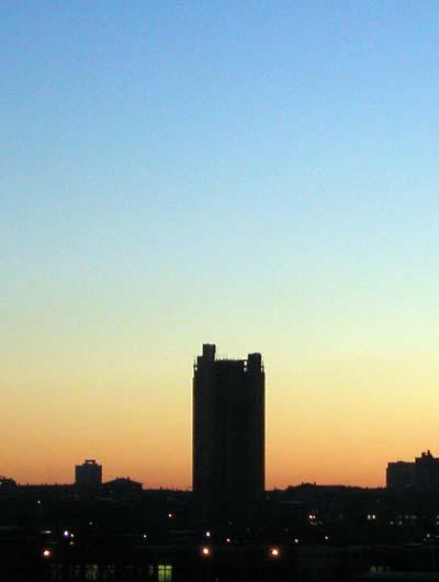 Москва, утро