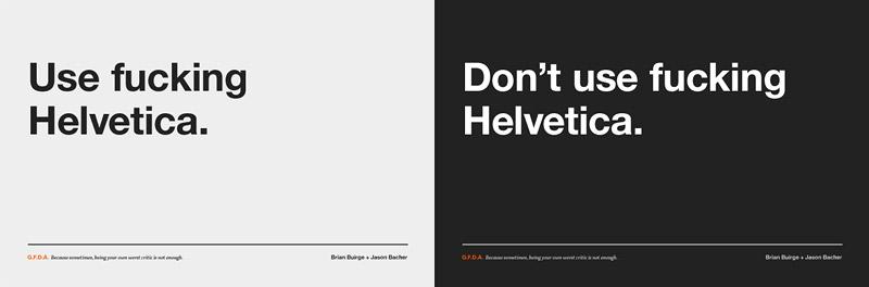 Fucking Helvetica