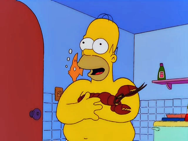Homer and Lobster
